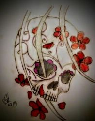 skull flash by jusamisfit