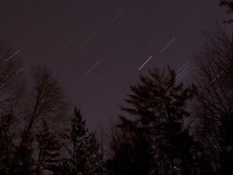 Star Trails 1st Attempt by cgauss