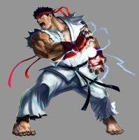 Marvel VS Capcom 2: Ryu by UdonCrew