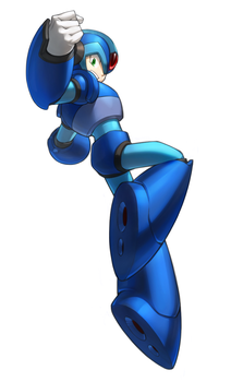 Mega Man X by inualet