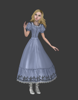 Burtons Alice wip2 by tombraider4ever