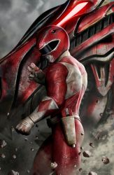 RED RANGER by CarlosDattoliArt