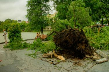 Storm Damages in Hanoi by Surreal-Project
