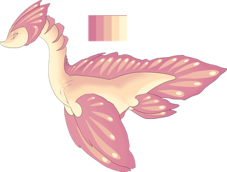 [Advent] - Frilled White Peach Leviathan [OPEN] by swiftyuki