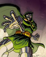 Dr. Doom - color by genekelly