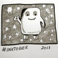 Inktober 2017, Day 16, Fat by maestromakhan