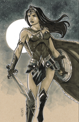 Wonder Woman by Hodges-Art