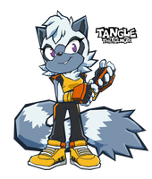 Sonic Battle - Tangle by LeatherRuffian