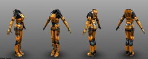 Mark IV H.E.V. Suit (Female) by MichaelTannock