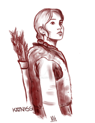 Katniss by Coram85