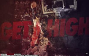 Blake Griffin Get High Wallpaper by IshaanMishra