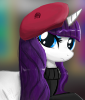 Rarity - Becoming Popular by ShroudofShadows
