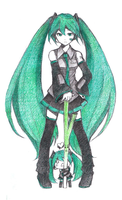 Hatsune Hatchune by CHESS-Studio