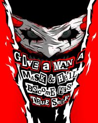 DC X Persona 5 Quote by svenfromoz
