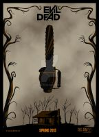 Evil-dead 2013 deviant poster by Dawid-B