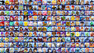 Ultra Smash Bros. (starting chronological part) by aamccormick1999
