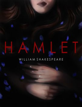 Hamlet Book Cover Design by Hades-0413