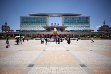 Kun Ming Zhan (Kunming central railway station) by ChristophGerlach