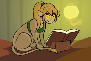 Evidence 59- Sphinx Reading Face by Reel123