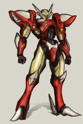 Tekkaman Tony Stark by Stachir