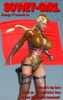 Jenny Poussin is Soviet Girl by greent64