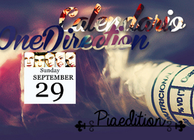 Calendario OneDirection Skin by Piiaedition2