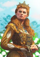 The Witcher 3: Blood and Wine - Anna Henrietta by ElyGraphic