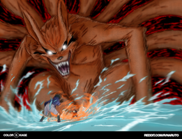 Naruto 228 - The Kyuubi Unleashed by Desvitio