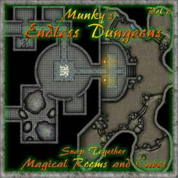 Endless Dungeons Vol 6 by meditatingmunky