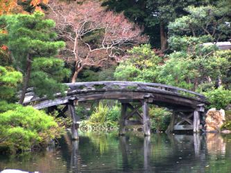 Kyoto Temple Garden by soopa-boombox-rox
