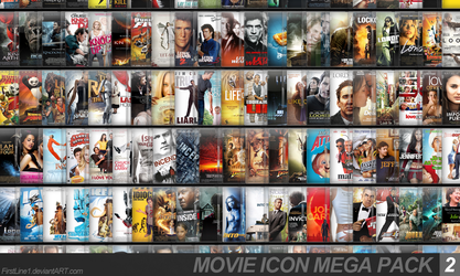 Movie Icon Mega Pack 2 by FirstLine1