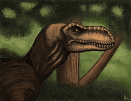 Rexy by BlueRavenfire
