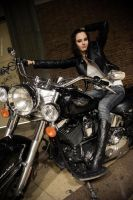 She came with the bike by BorjaPascual