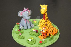 Animal toppers by Vaniraa