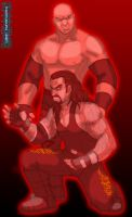Brothers of Destruction: Red by TheALVINtaker