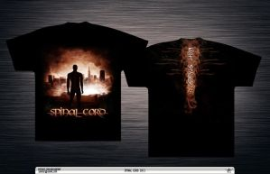 Spinal Cord - Night Stalker Promo T-Shirt by szafasz