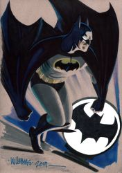 Another Batty commission by BroHawk