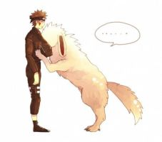 NOT MINE! Just a cute picture! by Ask-Kiba-Inuzuka