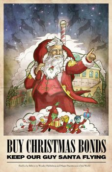Santa-propaganda-illustration-7 by Briansbigideas