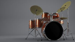 Drum set by bewsii
