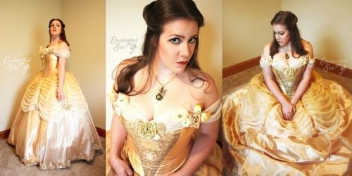 In Costume: Ombre Belle by enchantedsea