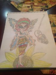 Me as a art talent fairy by nightangel5431