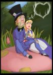 Hatter,Alice: Smoke by crumblygumbly