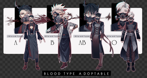 [CLOSED] Blood Type Adopt Auction and OTA by Black-Quose