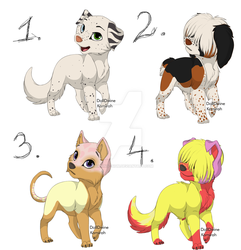  A  BATCH of doggos! by warning--sign