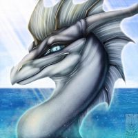 Icon Comish - Cool Scales, Warm Heart by TwilightSaint