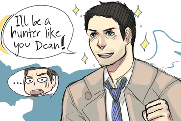 Cas Being Cas by SimplyPab