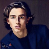 Timothee Chalamet - Elio Perlman - CMBYN  by bryluenlush