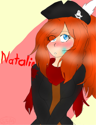 Natalie the Pirate by sweetsweetmina