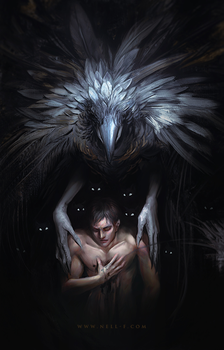 The boy named Crow by nell-fallcard